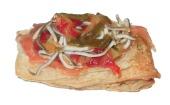 salmón-piperrada-gulas